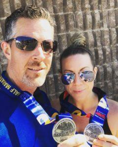 Robb and Lindsay Calgary Marathon